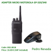 ADAPTER MICRO MOTOROLA GP-320/340 - Pedro Nevada