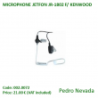 MICROPHONE JETFON JR-1802 F/ KENWOOD - Pedro Nevada