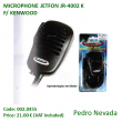 MICROPHONE JETFON JR-4002 F/ KENWOOD - Pedro Nevada
