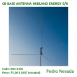 CB BASE ANTENNA MIDLAND ENERGY 5/8 - Pedro Nevada