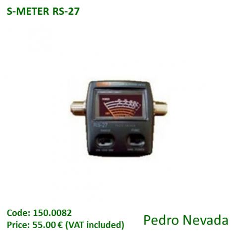 S-METER RS-27 - Pedro Nevada
