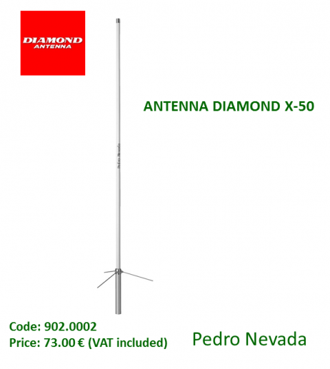 ANTENNA DIAMOND X-50 - Pedro Nevada