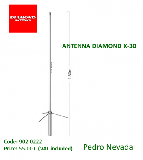 ANTENNA DIAMOND X-30 - Pedro Nevada