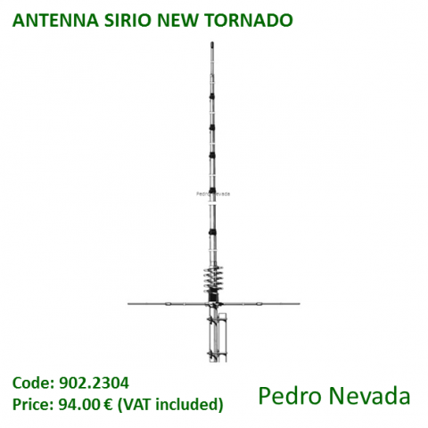 ANTENNA SIRIO NEW TORNADO - Pedro Nevada
