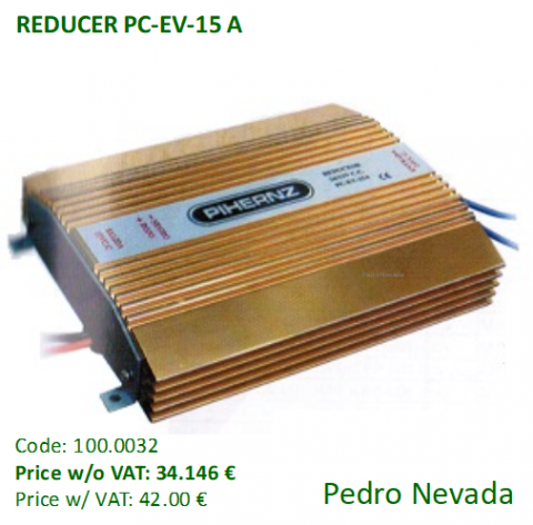 REDUCER PC-EV-15 A - Pedro Nevada
